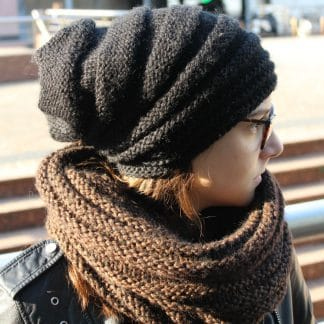 tutorial to knit a beanie in the round