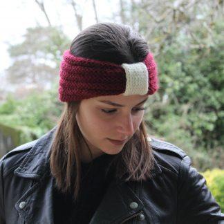 how to knit headband circular bulky yarn