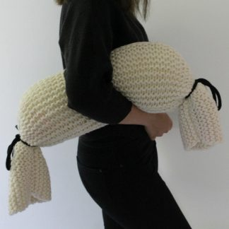 cushion free knitting pattern for beginners